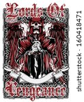 lords of vengeance | Shutterstock .eps vector #160418471