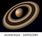 planet saturn | Shutterstock . vector #160422284