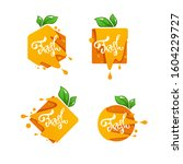 bright  sticker  emblem and...   Shutterstock .eps vector #1604229727