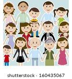 family design over  background...   Shutterstock .eps vector #160435067
