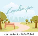 Landscape Design Over Sky...