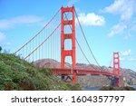Landscape View Of Golden Gate...