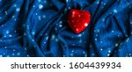 romance  surprise and holidays... | Shutterstock . vector #1604439934