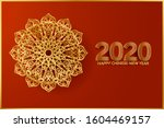 Chinese New Year 2020  Red And...
