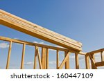 wood planks are ready to be... | Shutterstock . vector #160447109