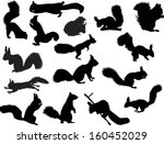 illustration with sixteen... | Shutterstock .eps vector #160452029