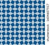 classic blue ornate seamless... | Shutterstock .eps vector #1604607517