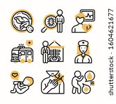 medical color icons pack vector | Shutterstock .eps vector #1604621677