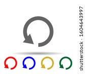 arrow  refresh multi color...