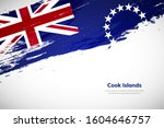 creative cook islands national... | Shutterstock .eps vector #1604646757
