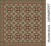 retro seamless vector pattern... | Shutterstock .eps vector #1604689297