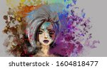 Abstract Illustration Of Young...
