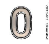 isolated metal figure   Shutterstock . vector #160481864