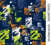 abstract seamless grunge... | Shutterstock .eps vector #1604875051