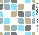 retro abstract geometric shape... | Shutterstock .eps vector #1604962114