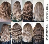Small photo of hair coloring many different options