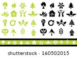 set of 32 ecology icons for... | Shutterstock .eps vector #160502015