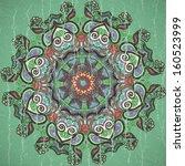 vintage polka dot  pattern with ...   Shutterstock .eps vector #160523999