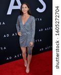 "Small photo of Kayla Adams 092 arrives at the Premiere Of 20th Century Fox's ""Ad Astra"" at The Cinerama Dome on September 18, 2019 in Los Angeles, California."