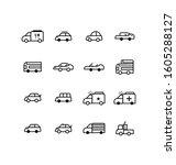 transportation and traffic...   Shutterstock .eps vector #1605288127