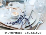 Dining Table Setting At...