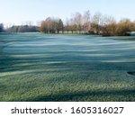 Golf Course Neuhof In Winter...