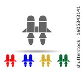 fly  jetpack  space multi color ...