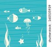 seabed | Shutterstock .eps vector #160535939