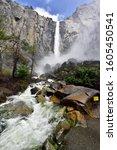 Small photo of Yosemite National Park, California, USA - Sentinel Fall View