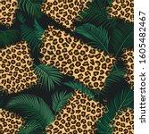 Leopard Scrappy Seamless...