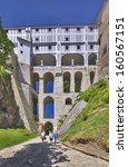 famous storey bridge in cesky... | Shutterstock . vector #160567151