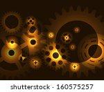 machine gear wheel cogwheel ...   Shutterstock .eps vector #160575257