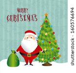 christmas design over... | Shutterstock .eps vector #160576694