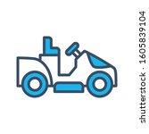 lawnmower icon design template  ...