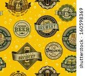 seamless vintage background... | Shutterstock .eps vector #160598369