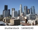 Downtown Los Angeles On A Sunn...
