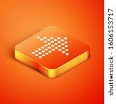 isometric dots arrow icon...   Shutterstock . vector #1606153717