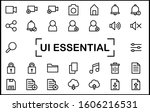 ui essential icon set contain...
