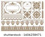 set of vintage elements for... | Shutterstock .eps vector #1606258471