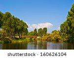 View Of Summer Park Yarkon In...