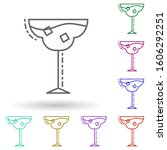 glass of cocktail dusk multi...