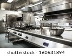 work surface and kitchen... | Shutterstock . vector #160631894