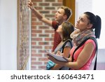 Students Looking At Notice...
