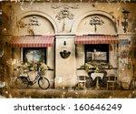 photo in retro style. paper... | Shutterstock . vector #160646249