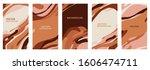 vector set of abstract creative ...   Shutterstock .eps vector #1606474711
