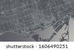 Toronto City Map. 3d...