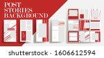 design backgrounds for social...   Shutterstock .eps vector #1606612594