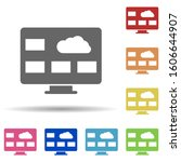 monitor  pc  cloud  desktop...