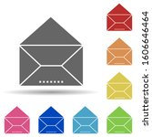 mail  envelope in multi color...