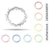 abstrarct round background ...